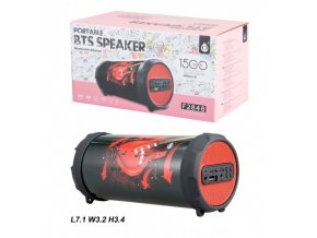 Bluetooth Portable Speaker PLUS Mini F2848, Red Guitar