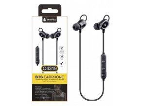 Aligator Sluchátka C4319 sport černá  Bluetooth sluchátka