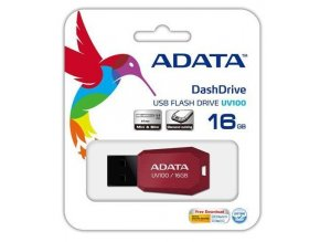 Screenshot 2019 11 11 A DATA DashDrive Series UV100 16GB USB 2 0 flashdisk, slim, červený
