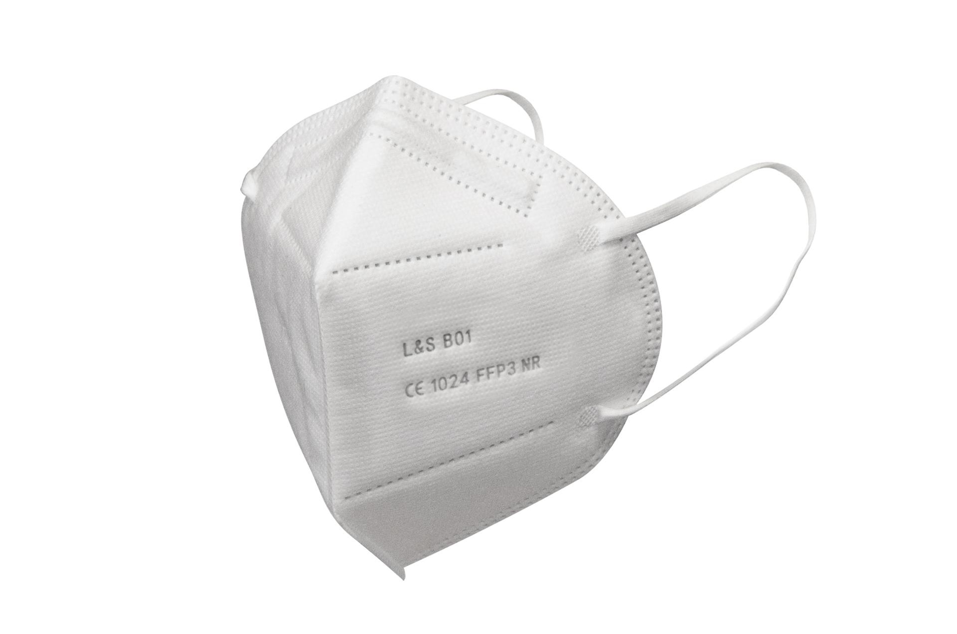 Respirátor FFP3 NR L&S B01 - 5 vrstev - 99,87% účinnost /5ks/