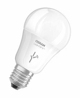 Osram LIGHTIFY CLASSIC A RGBW E27 10W 240V 2000K 810lm