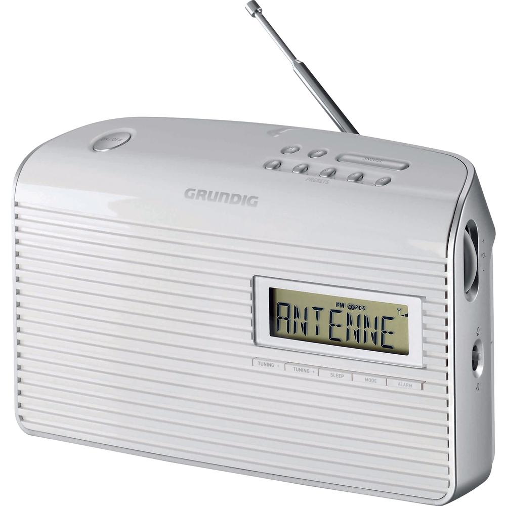 MUSIC 61 WHITE FM RADIOPŘIJÍMAČ GRUNDIG