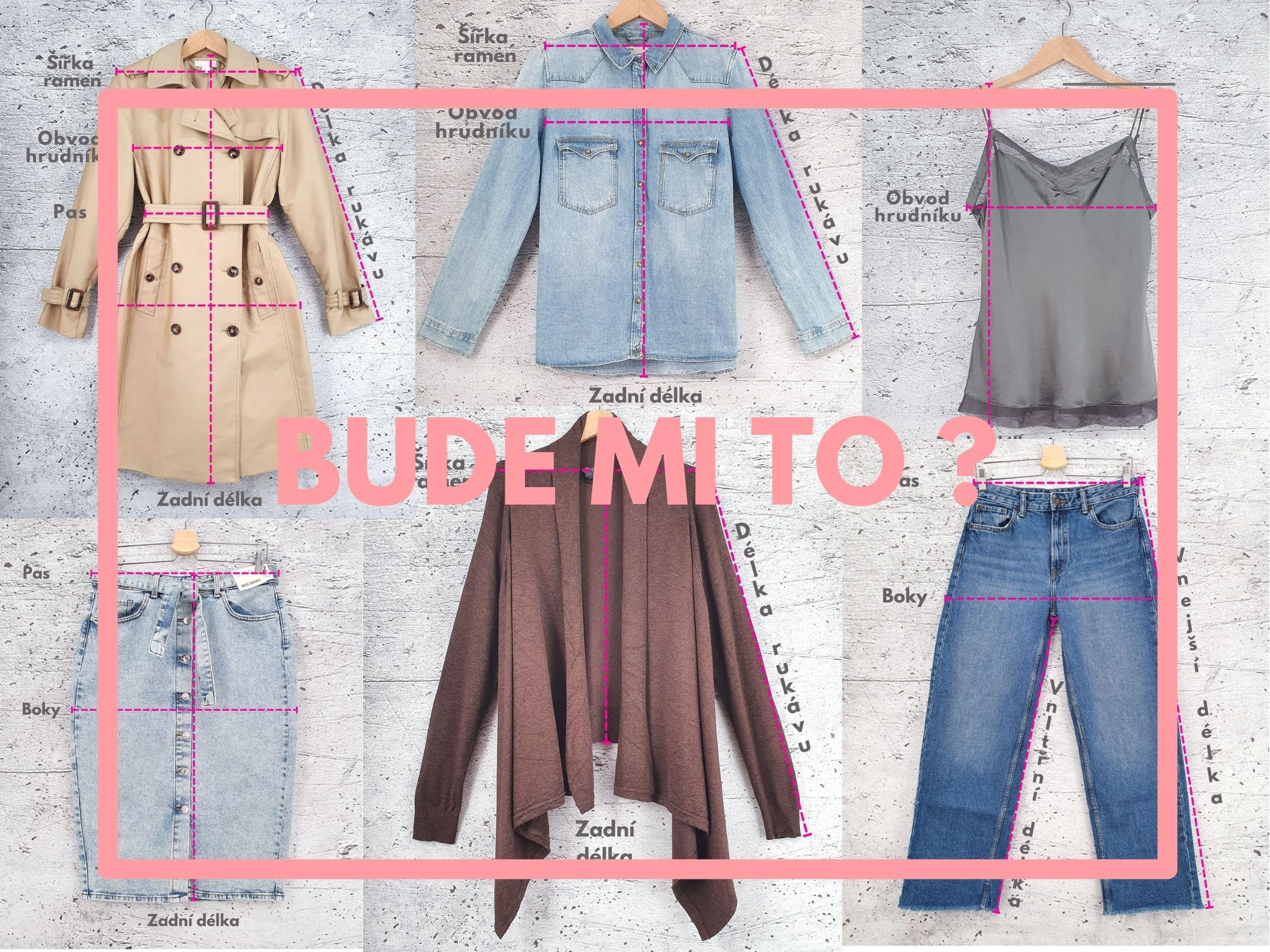 Jak změřit oblečení?