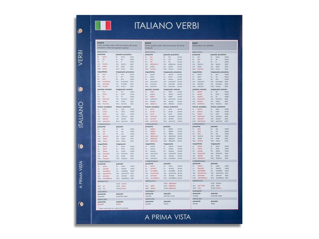 Italiano verbi