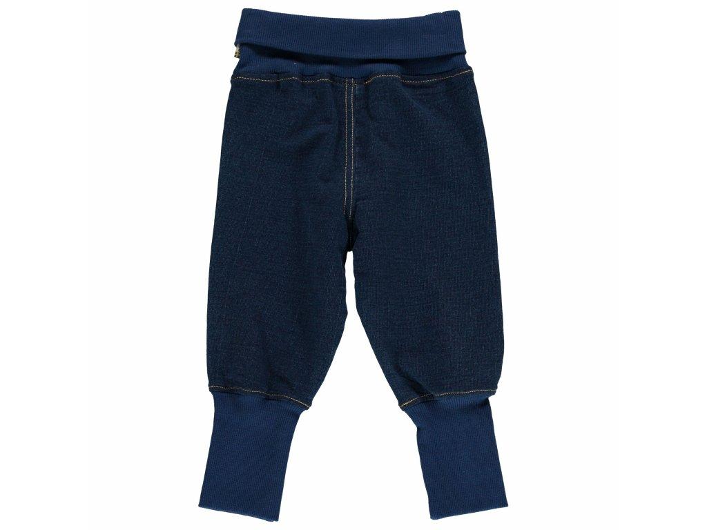 Pants Rib Sweat Solid INDIGO