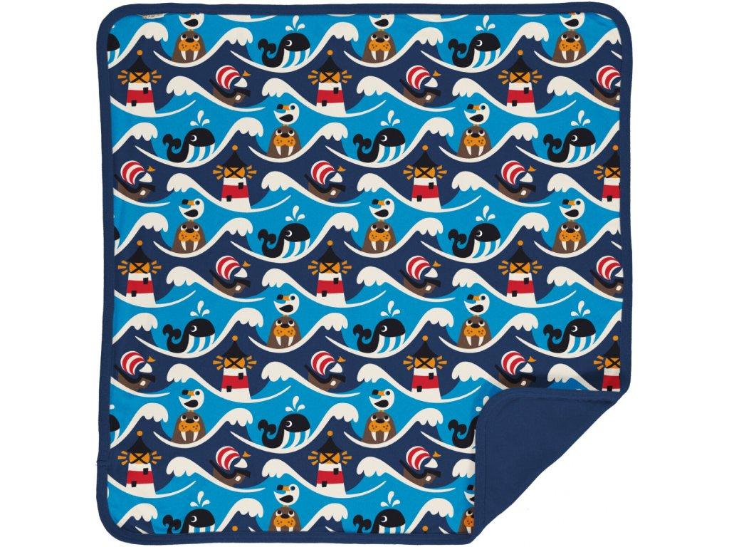 Blanket Velour OCEAN