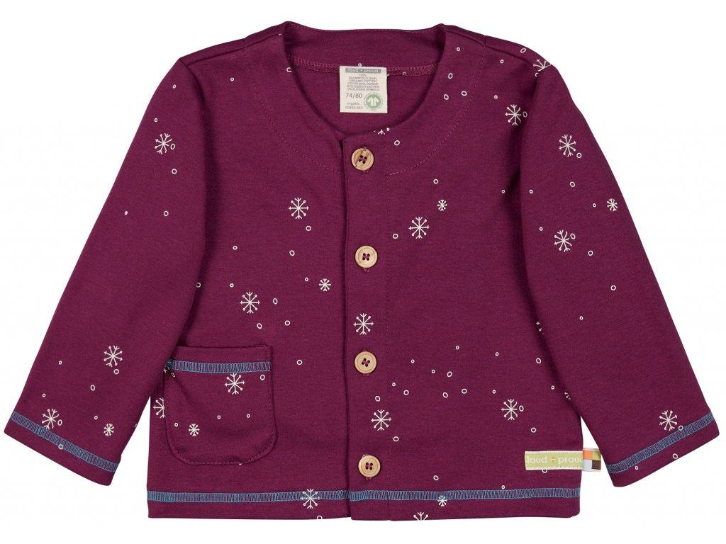 Dětský kabátek na knoflíky
