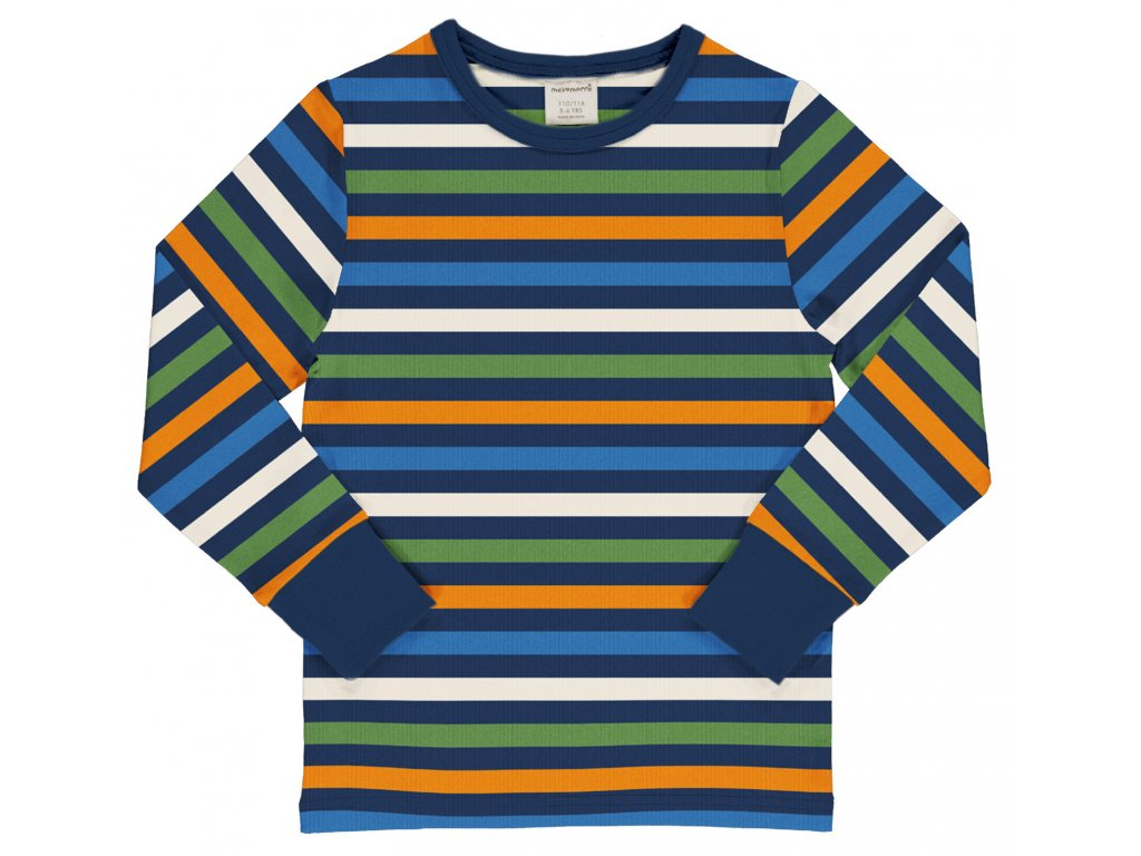 Top LS Stripe STRIPE NAVY