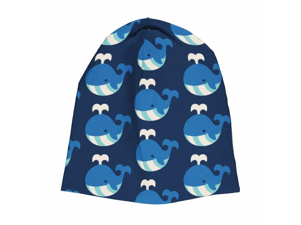 Dětská čepice zimní Velryba