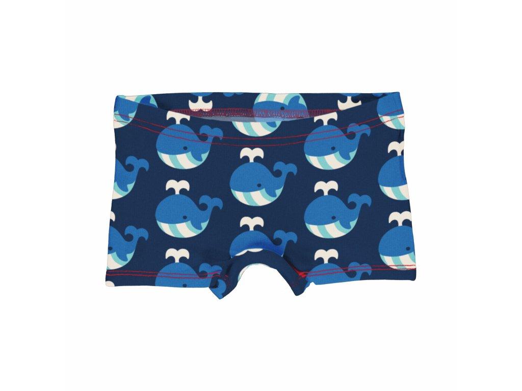 Dětské kalhotky s nohavičkou Velryba
