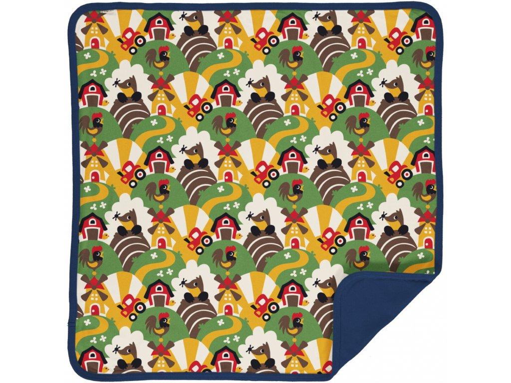 Blanket Velour FARM