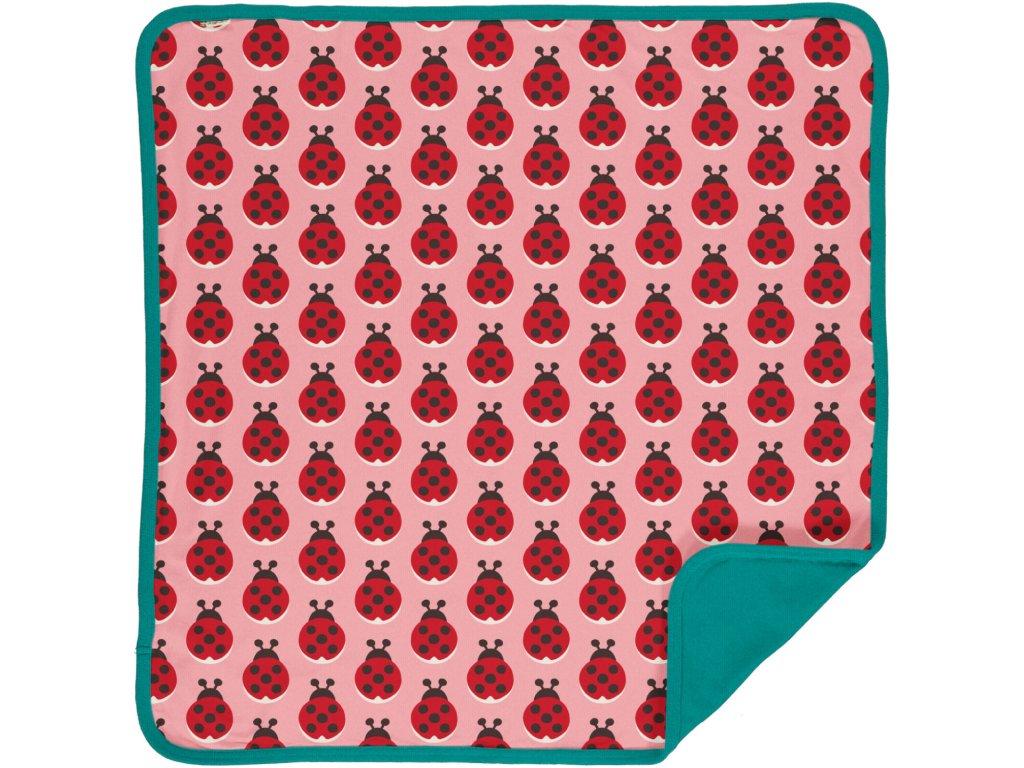 Blanket Velour LADYBUG