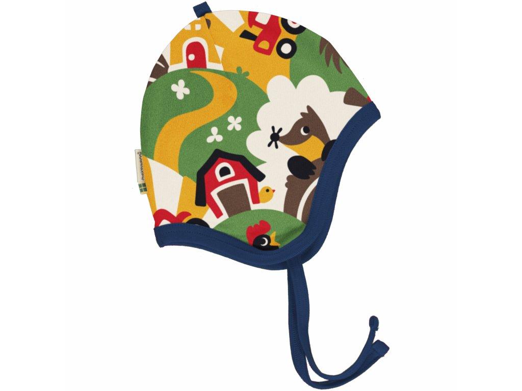 Hat Helmet Velour FARM