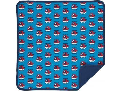 Blanket Velour HELICOPTER