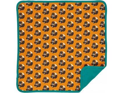 Blanket Velour SQUIRREL