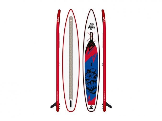 nafukovaci isup paddleboard TAMBO RACE 14 x27.5 x4.8 2021.TAMBIK ZLIN