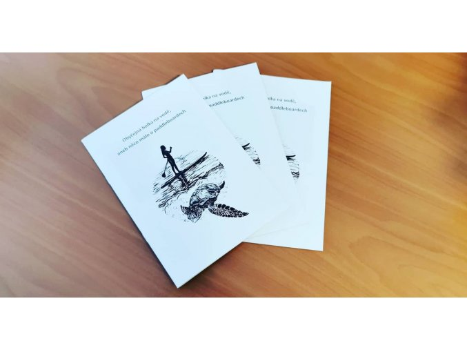 brožura o paddleboardech