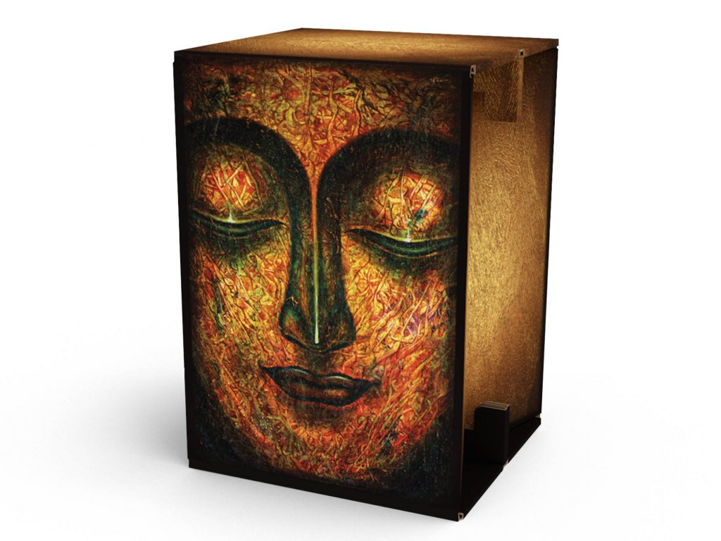 Carton Cajon Calm Face 1