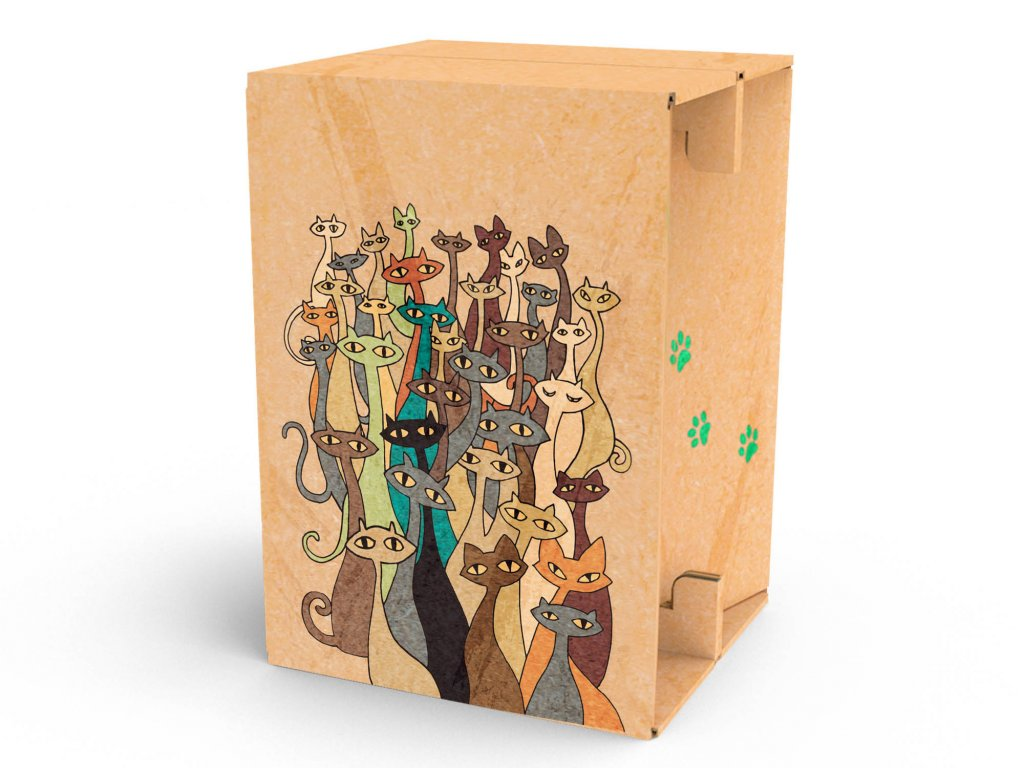 Carton Cajon Cats 1