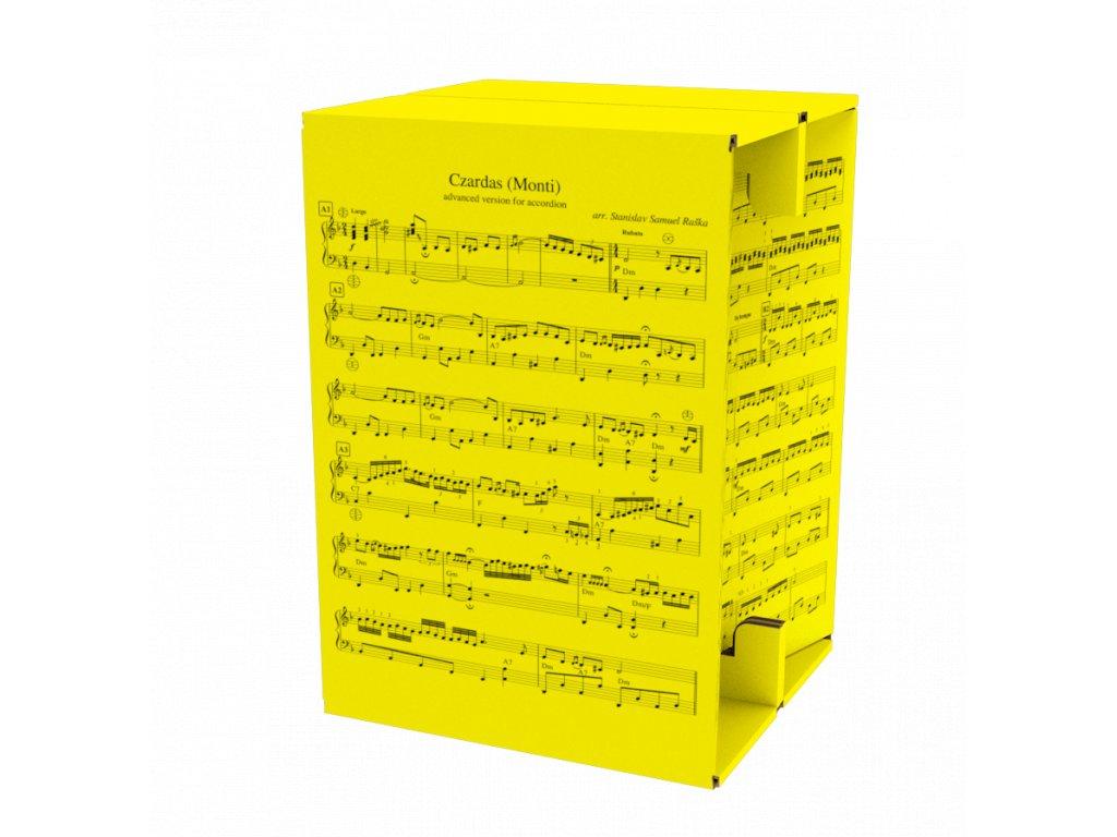 CZ45 Czardas Yellow Front1