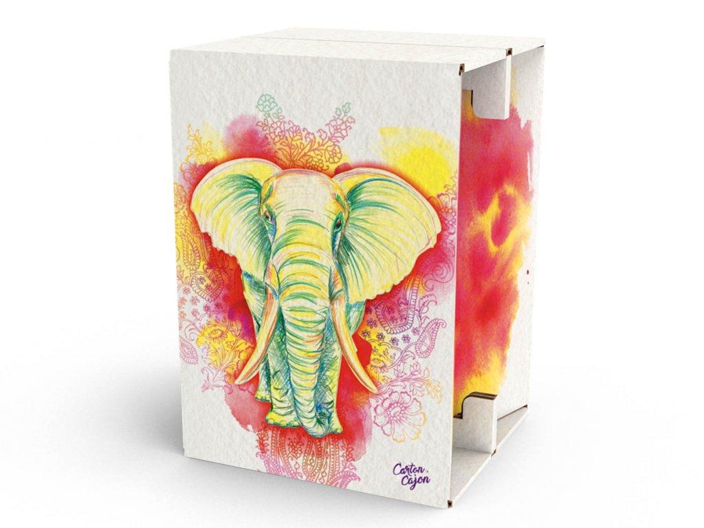 Carton Cajon Elephant 1
