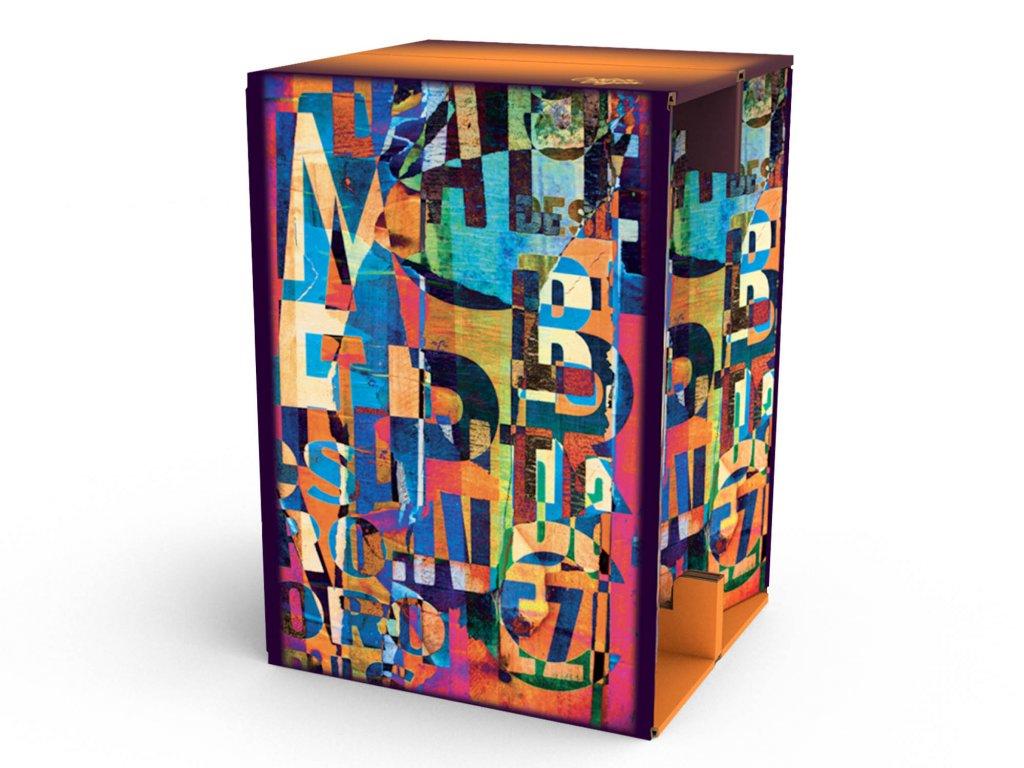 Carton Cajon Letters 1