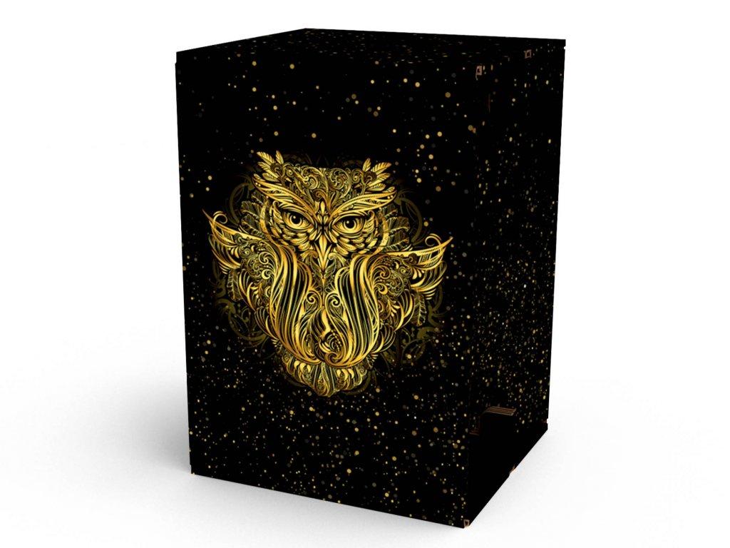 Carton Cajon Owl 1