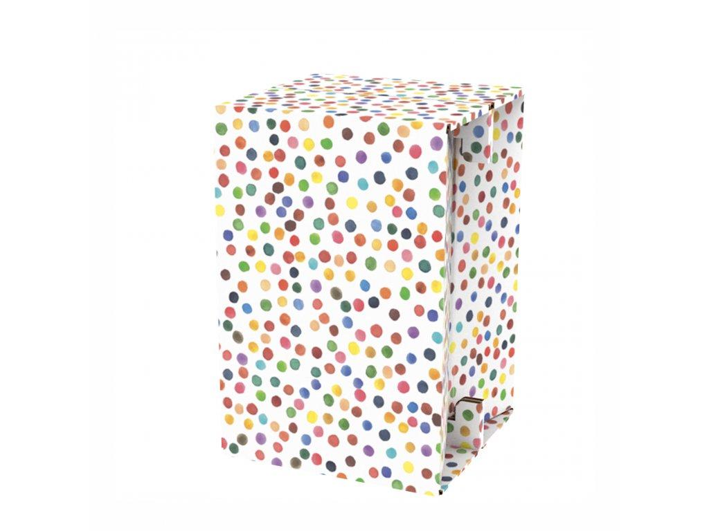 Carton Cajon Happy Dots 2