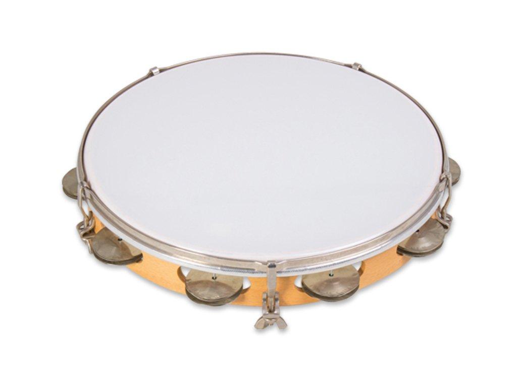 RST 300 8P tamburina s plastovou blanou studio 49