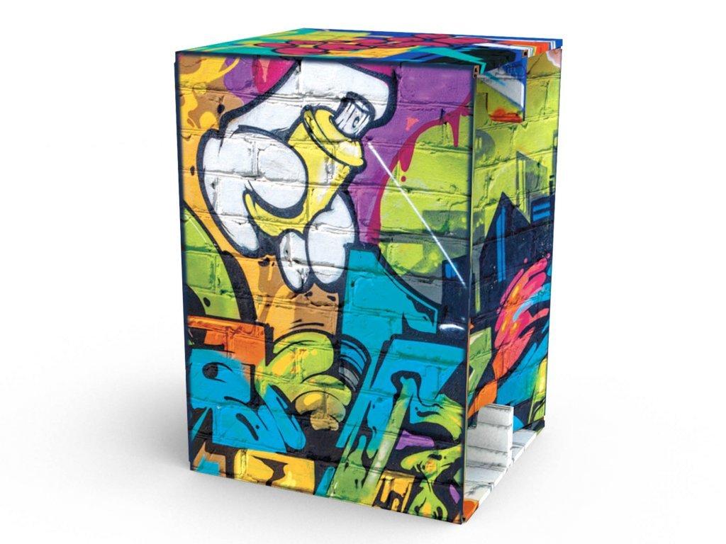 Carton Cajon Graffity