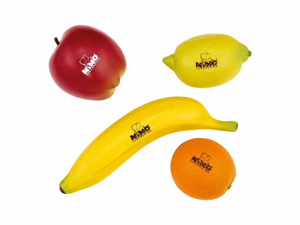 "Sada chrastítek Nino Percussion ""ovoce"" NINOSET100"