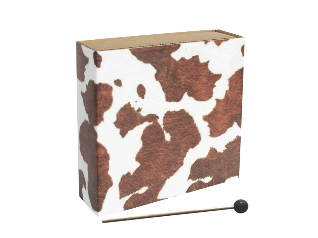 348 cajon rucni cow fur