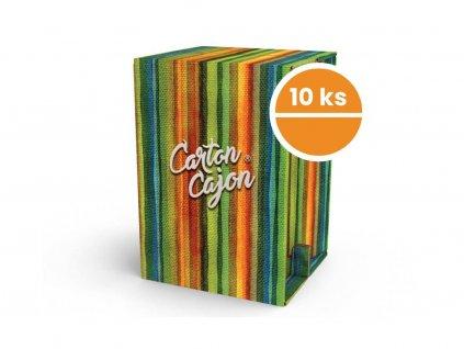 Sada 10 ks Carton Cajon3