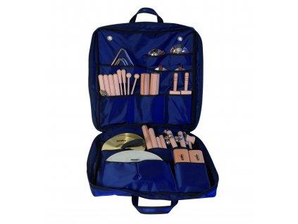 Malá sada perkusních nástrojů v barevné tašce - GOLDON 30300