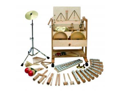 Velký vozík s rytmicko-melodickými nástroji 2 - GOLDON 30610