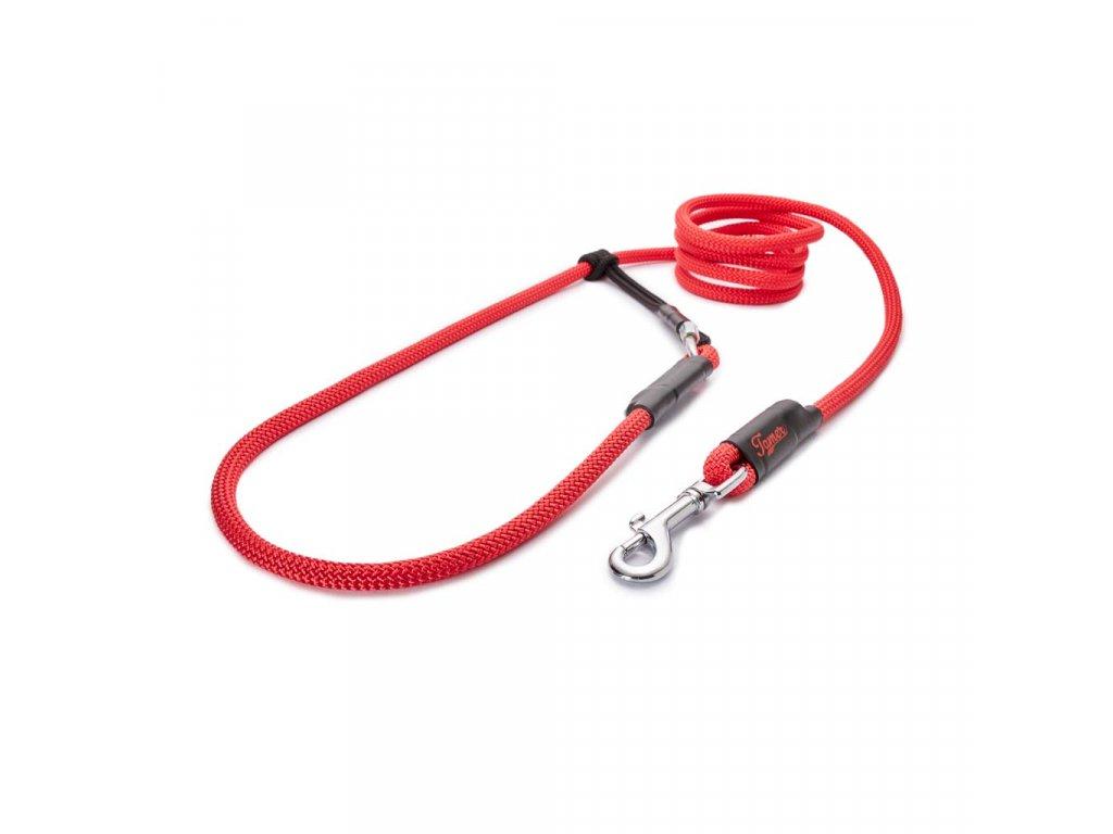 Lanové vodítko EASY LONG střední pes | červené