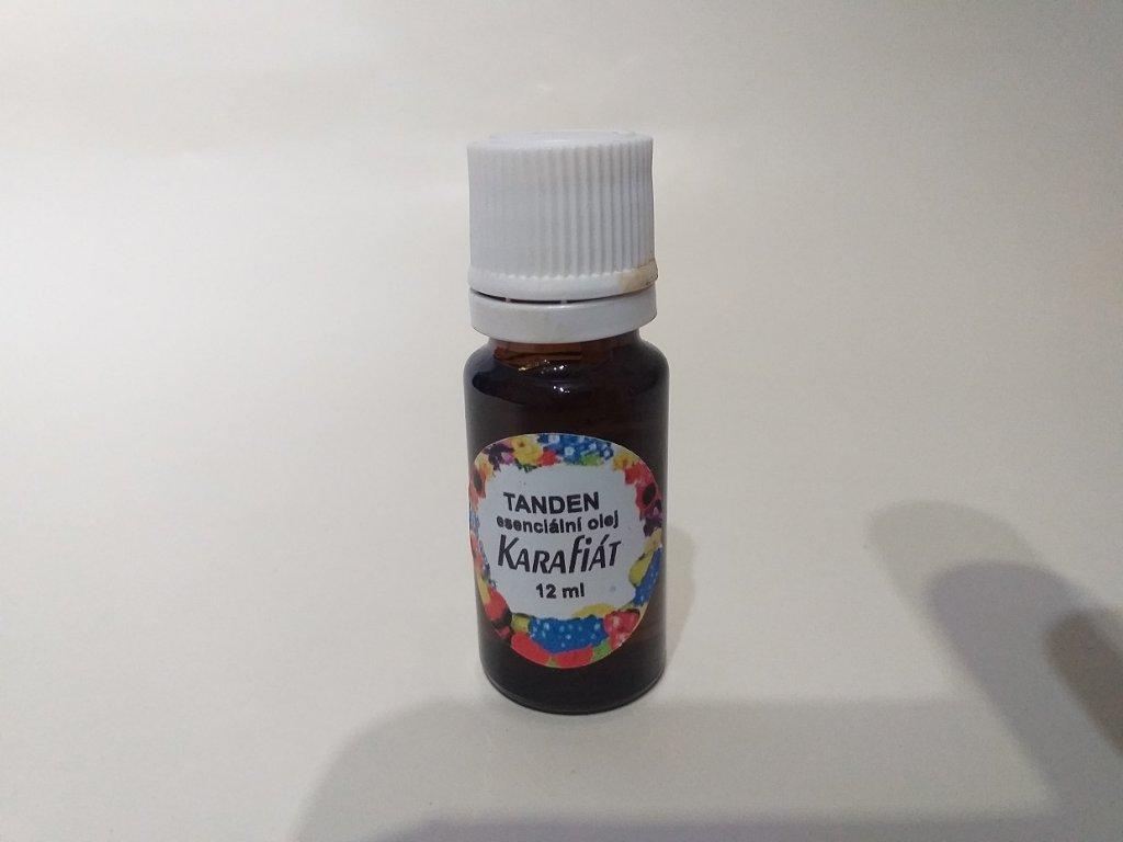 Karafiát esenciální olej