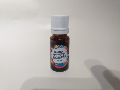 Borůvka esenciální olej