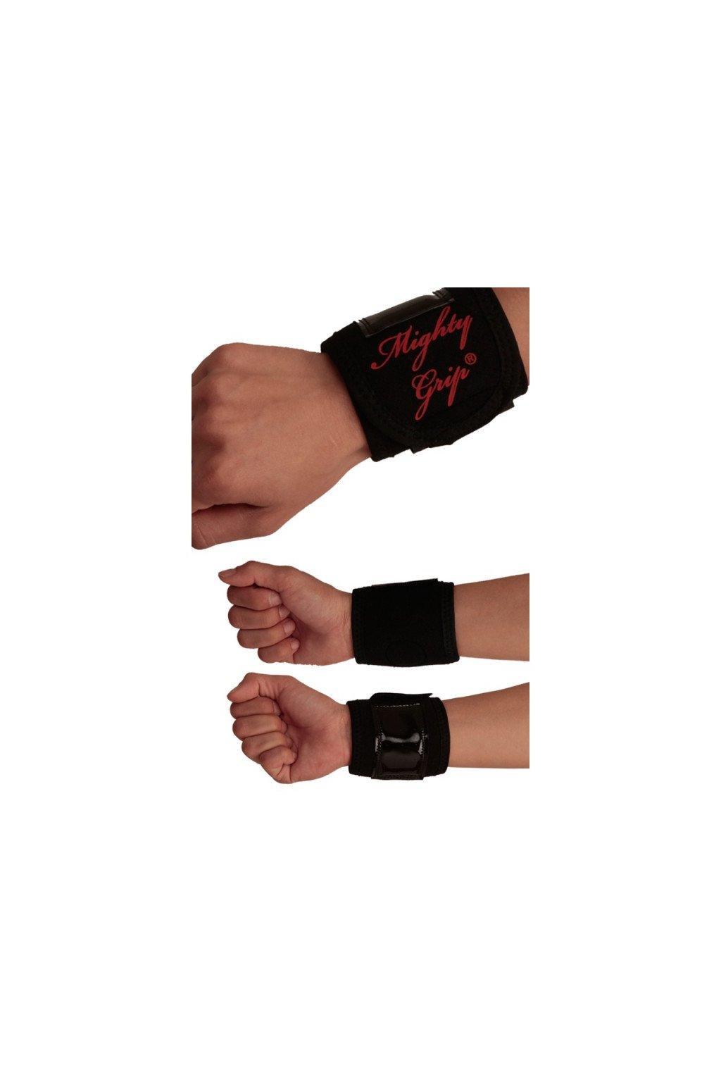 Podpora zápěstí latex (Barva Černá, PVC/Latex Latex)