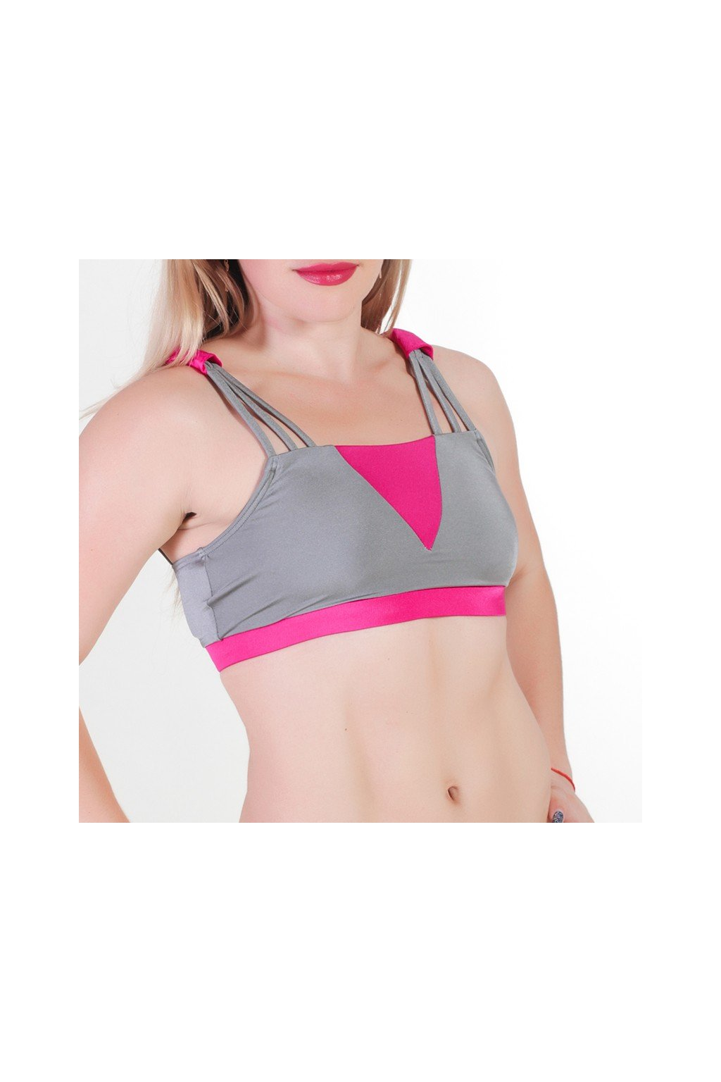pole candy top cher grey raspberry 01
