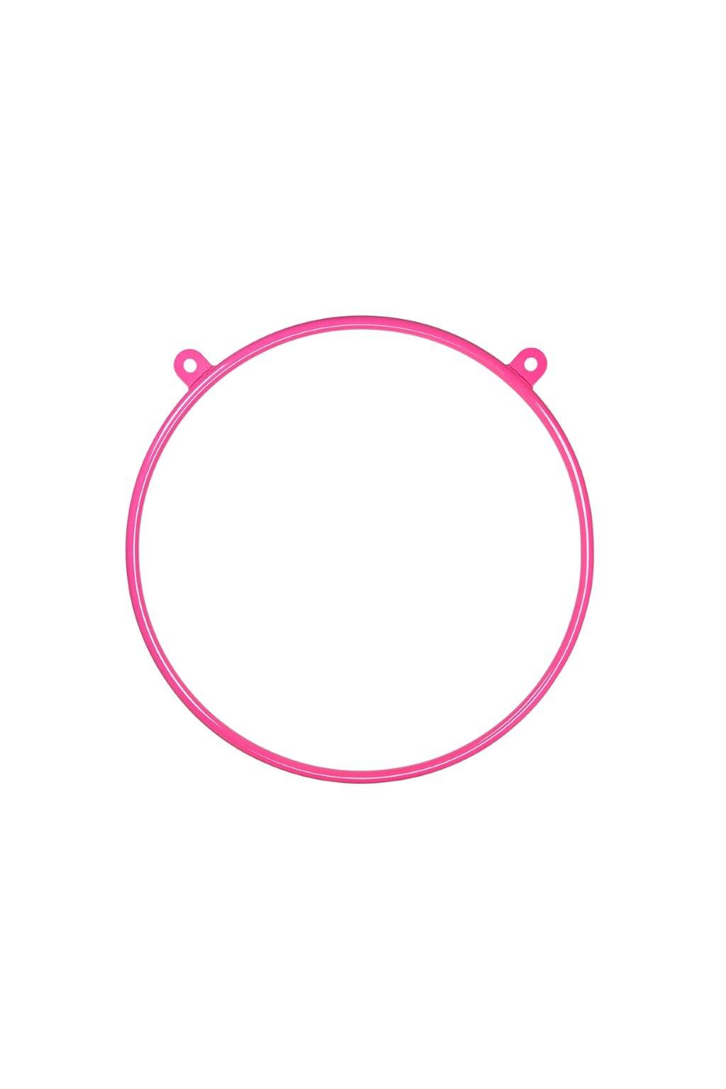 Kruh Aerial Hoop DUAL - ružový