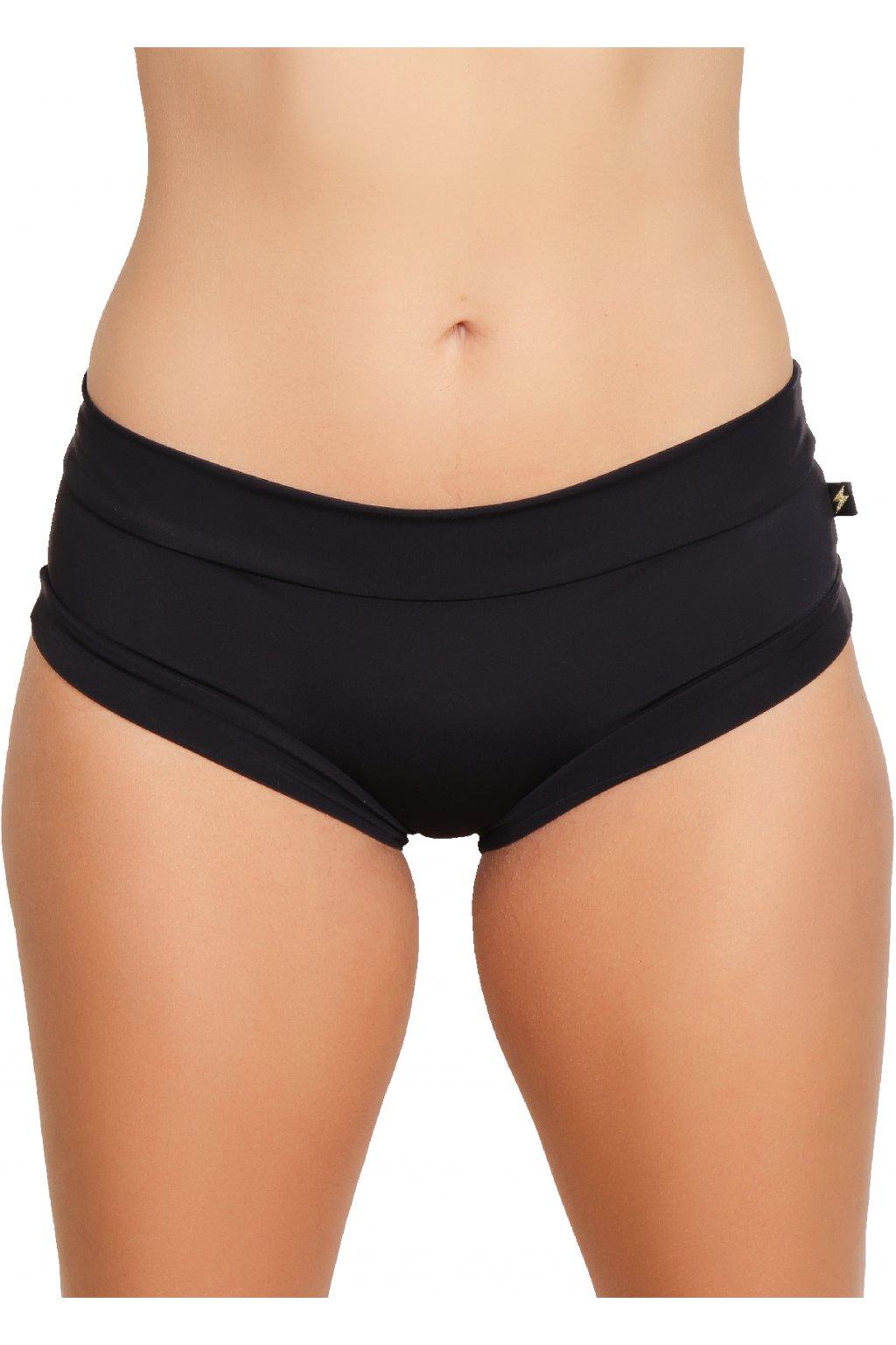 Šortky Hot Pants čierne