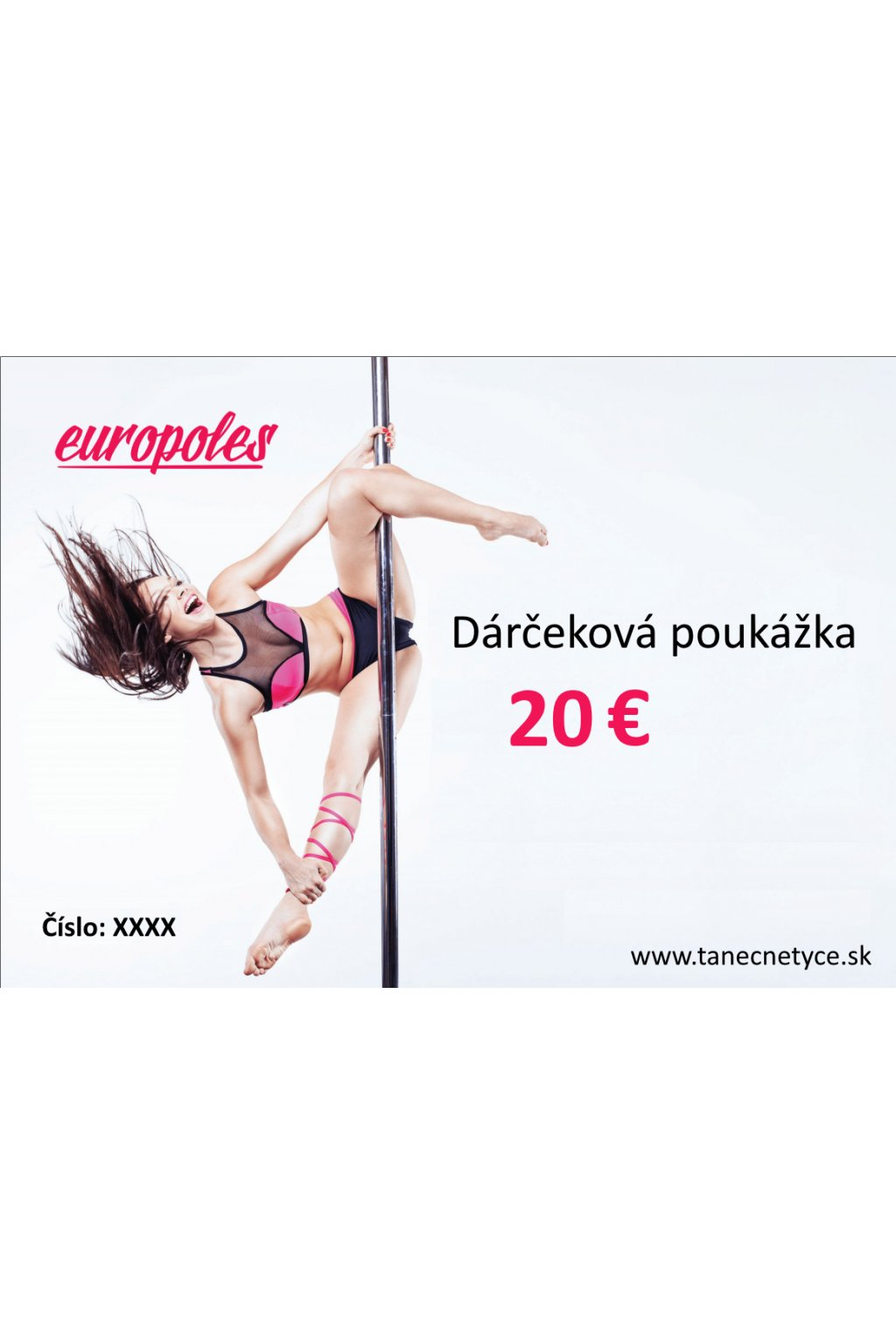 poukazka 20 eur