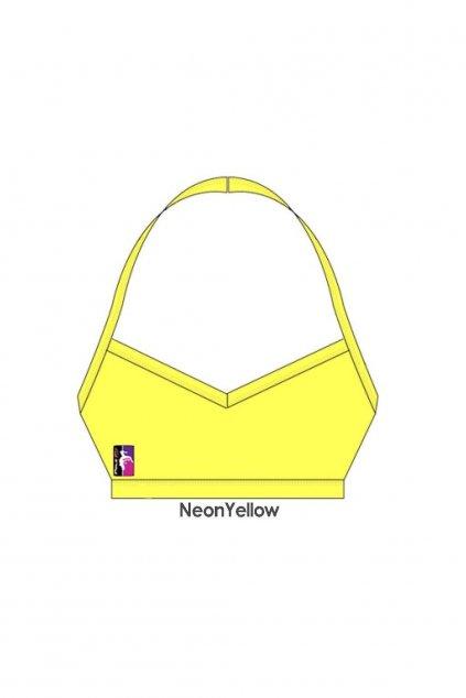 Top V-Front žltý, veľ. S