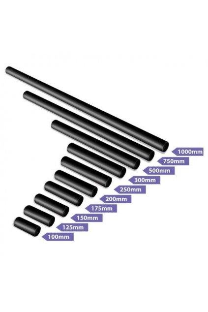 X Pole black extensions