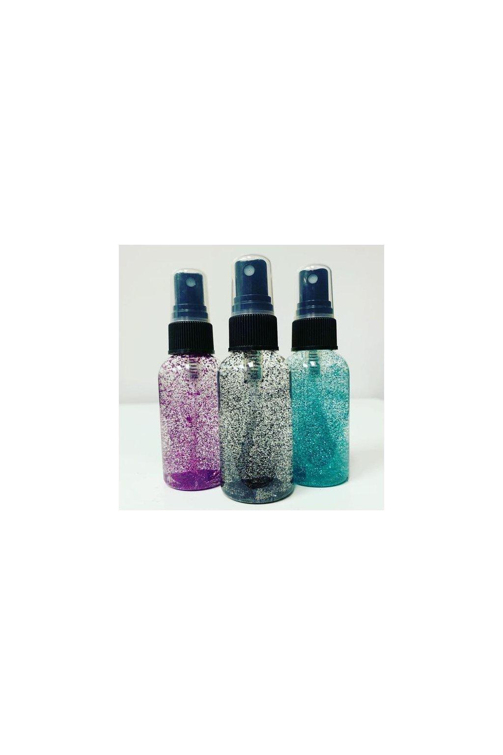 Dew Point Glitter - stříbrná - 74 ml