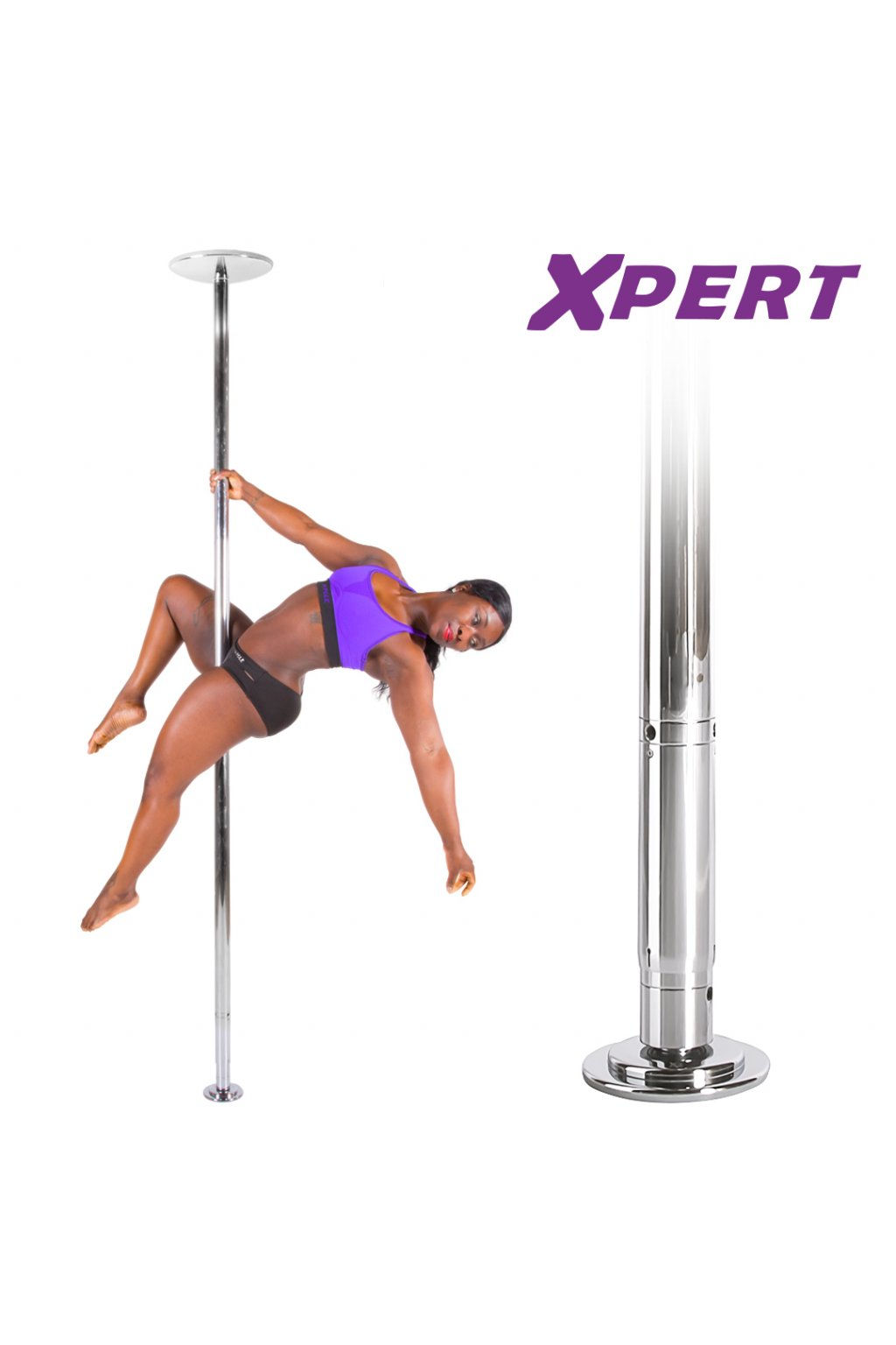 Joe Xpert chrome pole set with new upper dome