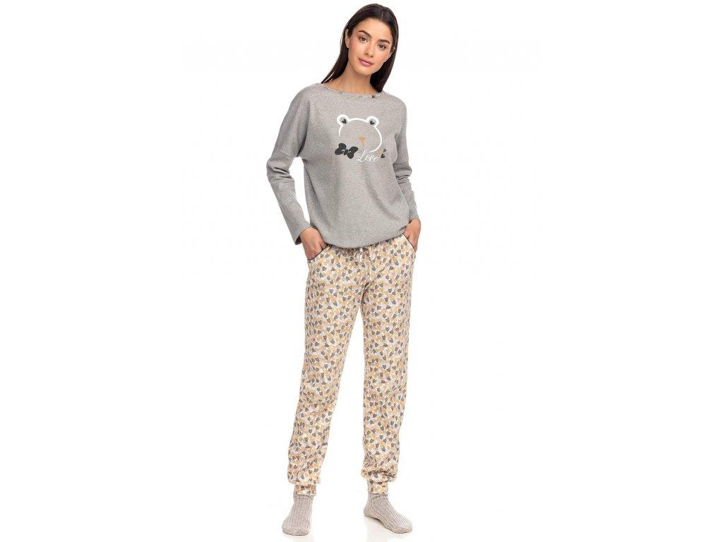 Dámské pyžamo VAMP 15383