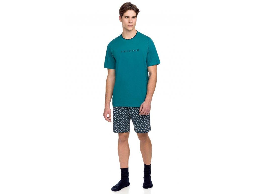 Pánské pyžamo VAMP 15635