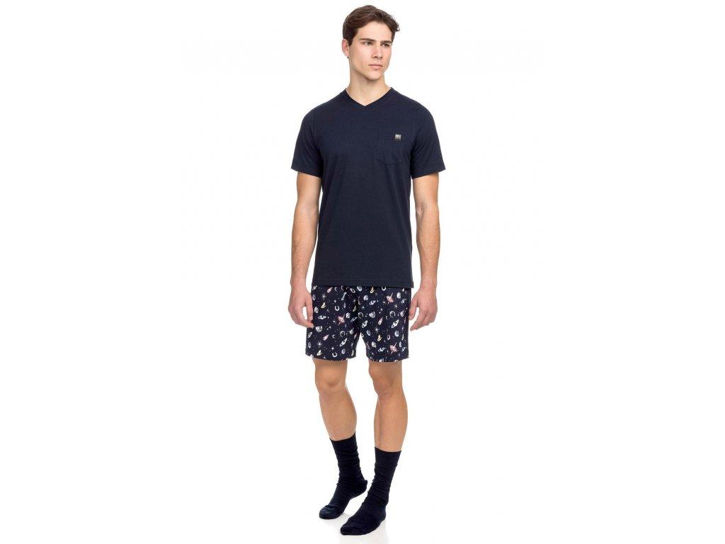 Pánské pyžamo VAMP 15648